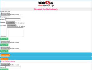 webdj.tk screenshot