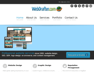 webdrafterinc.com screenshot