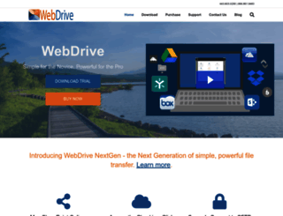 webdrive.com screenshot