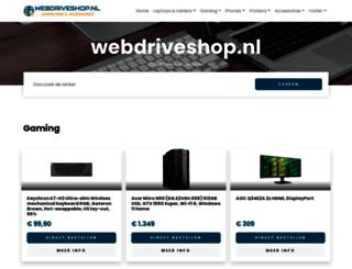 webdriveshop.nl screenshot