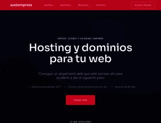 webempresa.eu screenshot