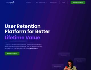 webengage.com screenshot