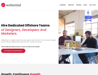 webential.com.au screenshot