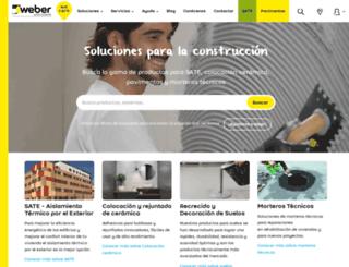 weber.es screenshot