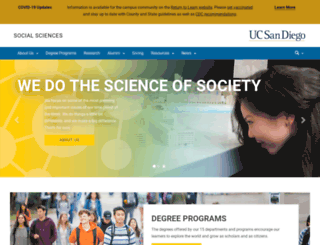 weber.ucsd.edu screenshot