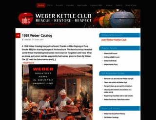 weberkettleclub.com screenshot