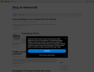webesoldi.altervista.org screenshot