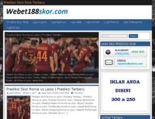 webet188skor.com screenshot