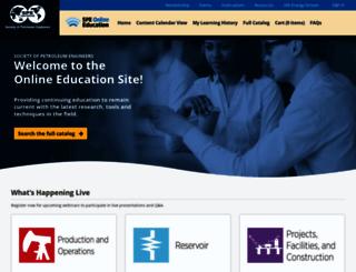 webevents.spe.org screenshot