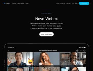 webex.com.br screenshot