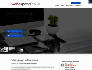 webexpand.co.uk screenshot