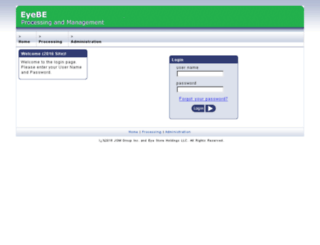 webeyestore.biz screenshot