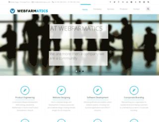 webfarmatics.com screenshot