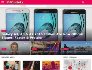 webfeedbacks.com screenshot