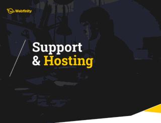 webfinity.org screenshot