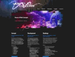 webfolioconcepts.com screenshot