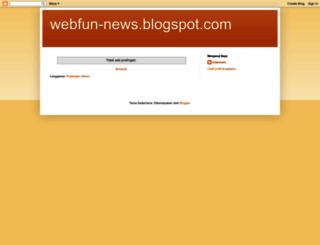 webfun-news.blogspot.com screenshot