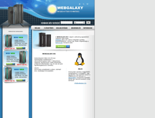 webgalaxy.hu screenshot