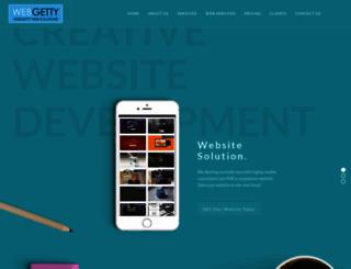 webgetty.com screenshot