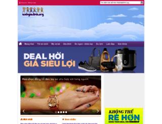 webgiadinh.org screenshot