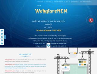 webgiarehcm.com screenshot