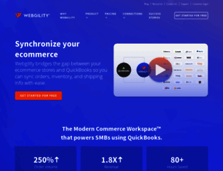 webgility.com screenshot