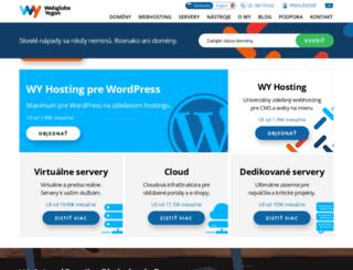 webglobe.sk screenshot