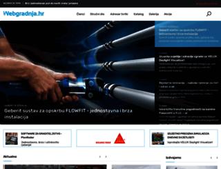 webgradnja.hr screenshot