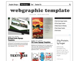 webgraphic-template.com screenshot