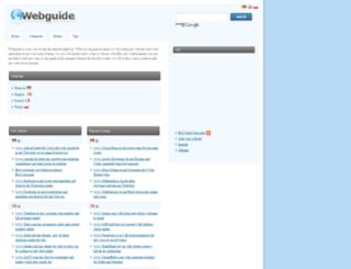 webguide.org screenshot