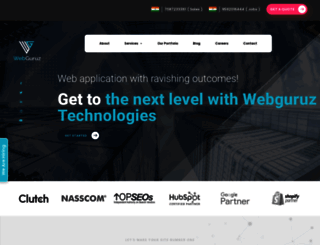 webguruz.in screenshot