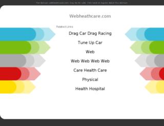 webheathcare.com screenshot