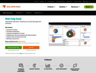 webhelpdesk.com screenshot