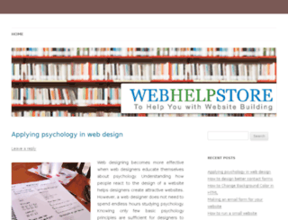 webhelpstore.com screenshot