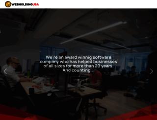 webholdingusa.com screenshot