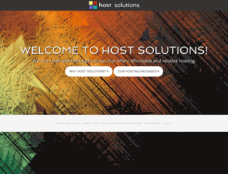 webhost-solutions.net screenshot