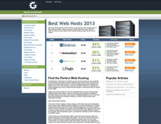 webhostgear.com screenshot