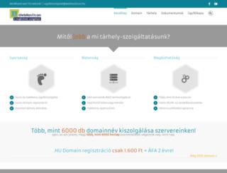 webhosticon.hu screenshot