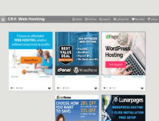 webhosting.couponrainbow.com screenshot