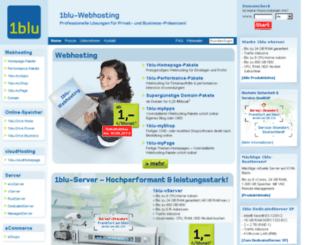 webhosting60.1blu.de screenshot