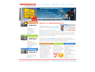 webhostingafrica.com screenshot
