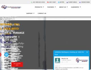 webhostingamritsar.net screenshot