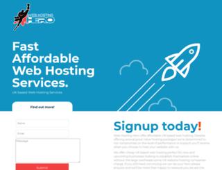 webhostinghero.co.uk screenshot