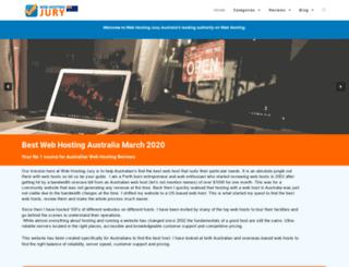 webhostingjury.com screenshot
