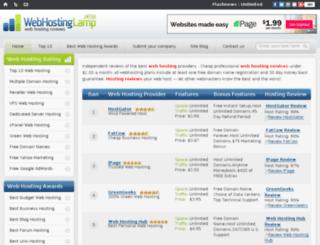 webhostinglamp.com screenshot