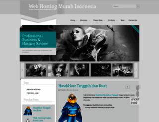 webhostingmurahindonesia.blogspot.com screenshot