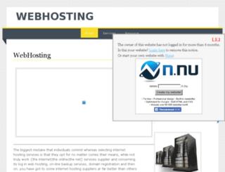 webhostingservices.n.nu screenshot