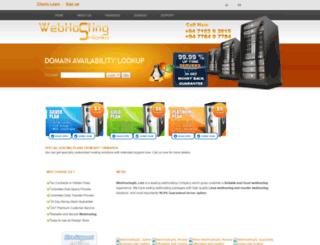 webhostingsl.com screenshot