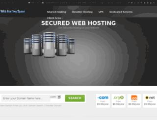 webhostingspace.co screenshot