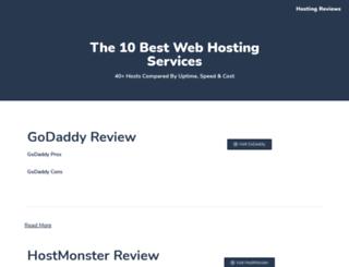 webhostingtopten.com screenshot